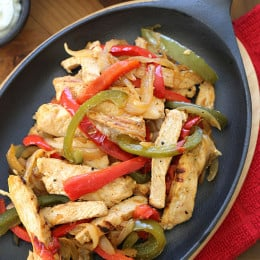 skinny-chicken-fajitas