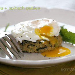 Spinach-and-quinoa-patties