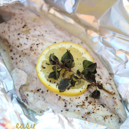 This super easy method for grilling fish is pretty foolproof, and you can use any fresh fish that's available to you in your area. It's almost 90 degrees today, which means I'm grilling tonight. In fact I use my outdoor grill just about every night in the summer to make quick, easy, healthy dinners.
