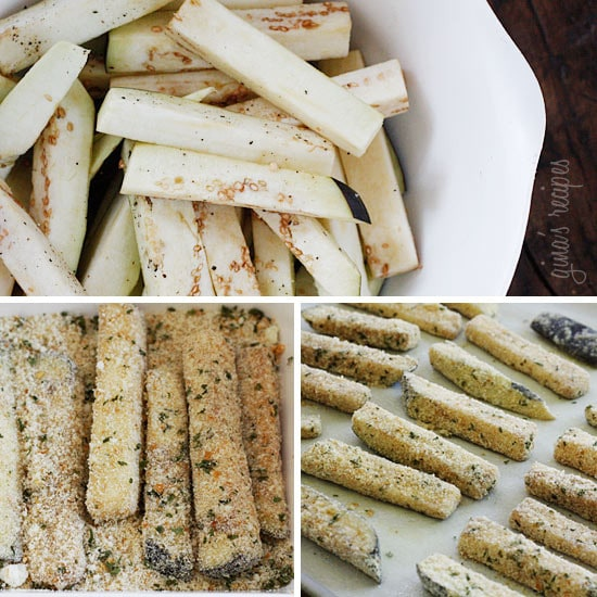 Baked Eggplant Sticks Recipes — Dishmaps