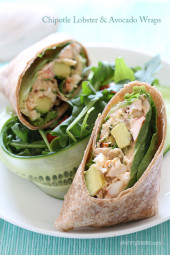 chipotle-lobster-and-avocado-wrap