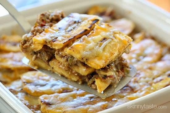 Turkey Pastel? (Sweet Plantain Lasagna)
