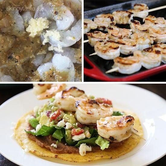 Grilled Shrimp Tostadas | Skinnytaste