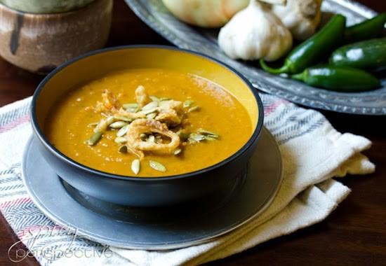 Spicy Southwest Pumpkin Soup
