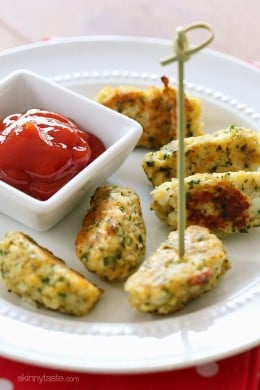These kid-friendly cauliflower tots are a great way to get your picky-kids to eat more vegetables! They make a great side dish and are easy to make.