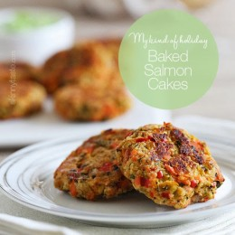 Baked-Salmon-Cakes-with-Creamy-Avocado-Dip