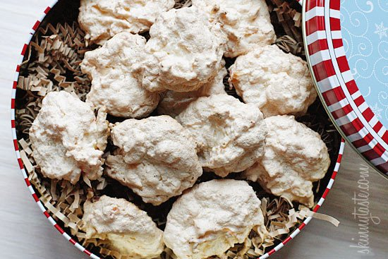 These Coconut Cookies are to die for! A hybrid of coconut macaroons and meringue but with added cornflake crumbs. Delicious and gluten-free!