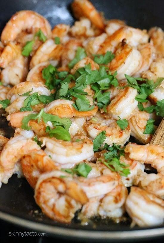Cilantro Lime Shrimp Skinnytaste