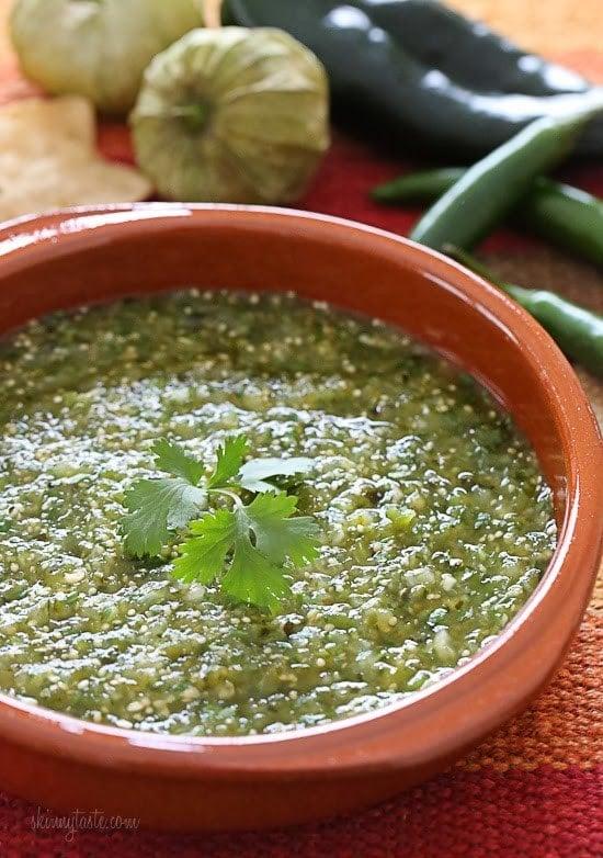 Easy Homemade Salsa Verde