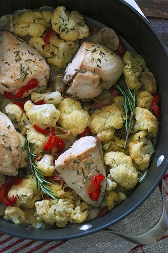 Skinny Chicken Scarpariello