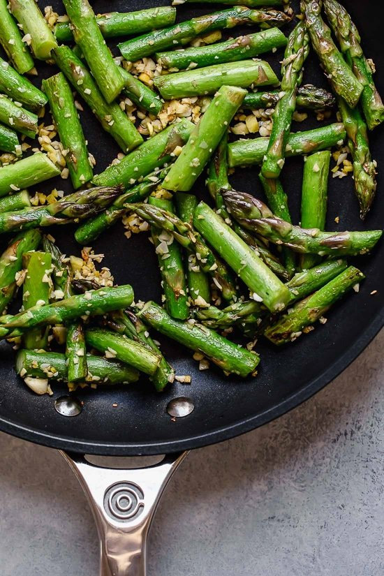 Spring Asparagus used in this quick Stir Fry