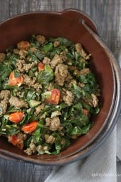 This Kenyan dish is quick and sooo easy to make – perfect if you're craving something a little more exotic with pretty common ingredients.