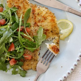 Light-Flounder-Milanese-with-Arugula-Salad