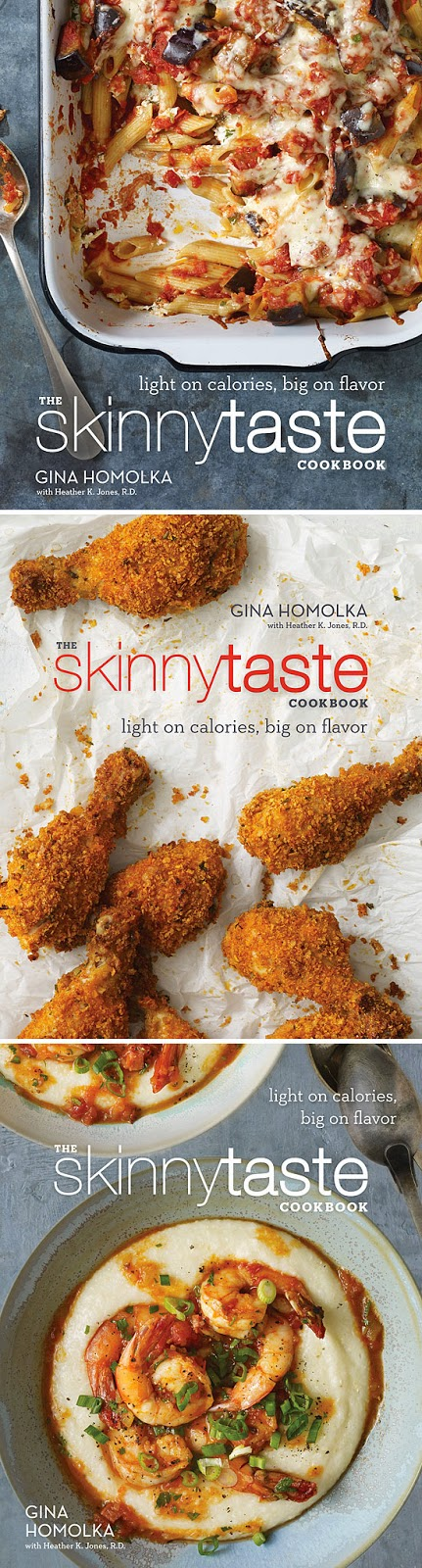 The Skinnytaste Cookbook Cover Designs