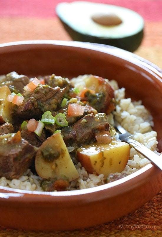 Crock Pot Carne Guisada Latin Beef Stew