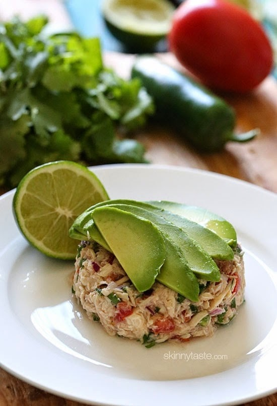 Canned tuna ceviche skinnytaste for Canned fish recipes