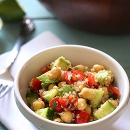 chickpea-quinoa-avocado-salad