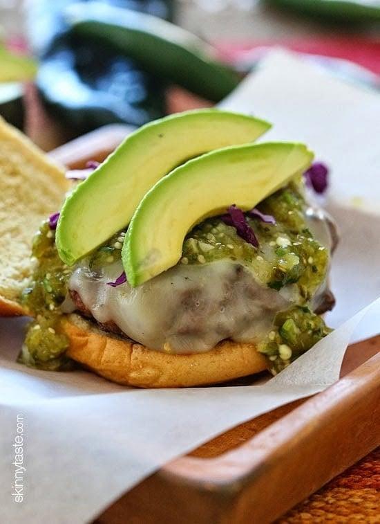 Salsa Verde Burgers