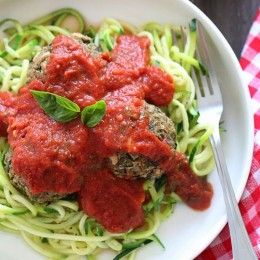 These Vegan Eggplant Meatballs are amazing meatless meatballs, made with eggplant, white beans and breadcrumbs to hold them together