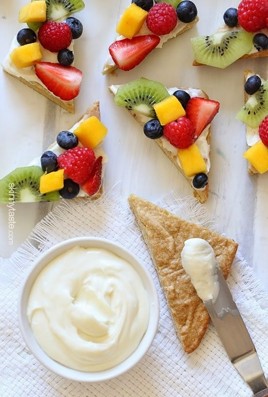 recipe for fruit pizza fruit of the loom