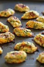 Zucchini Tots are a great way to get your family to eat their veggies! These kid-friendly zucchini tots, made with shredded zucchini and cheese make a great side dish or snack.