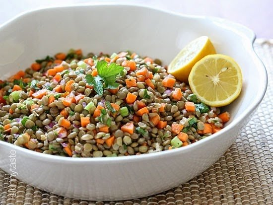 Lentil salad recipes using canned lentils nutrition