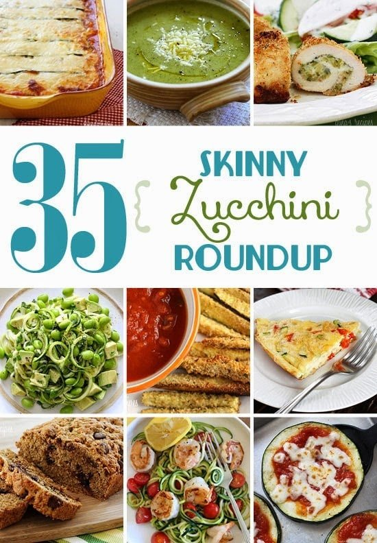 35 Skinny Zucchini Recipes