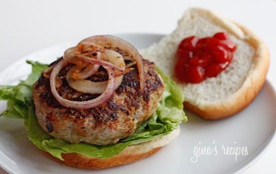 Turkey Zucchini Burgers