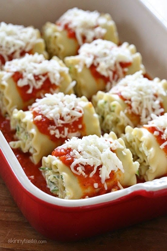 Zucchini Rolls Stuffed With Ricotta Recipes — Dishmaps