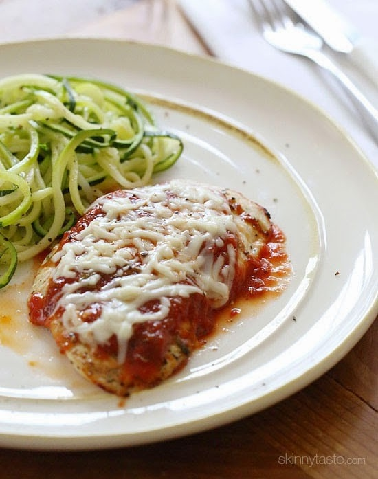 Easy Grilled Chicken Parmesan – perfect while it's still hot ...