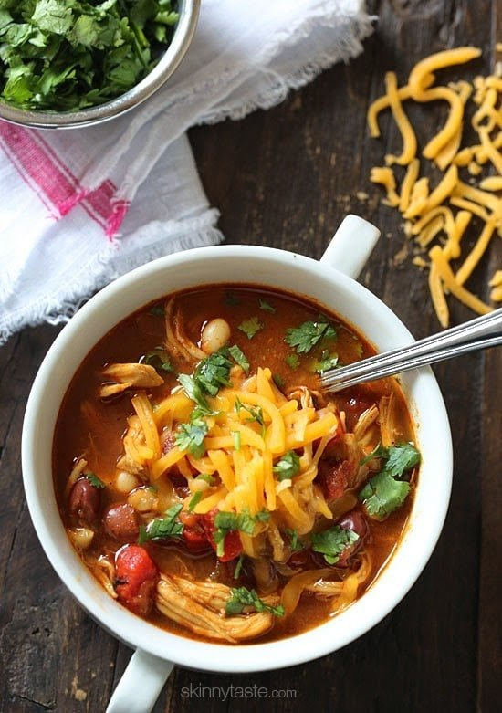 Bbq Chicken Chili Skinnytaste