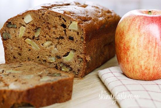 Applesauce Nut Bread Skinnytaste