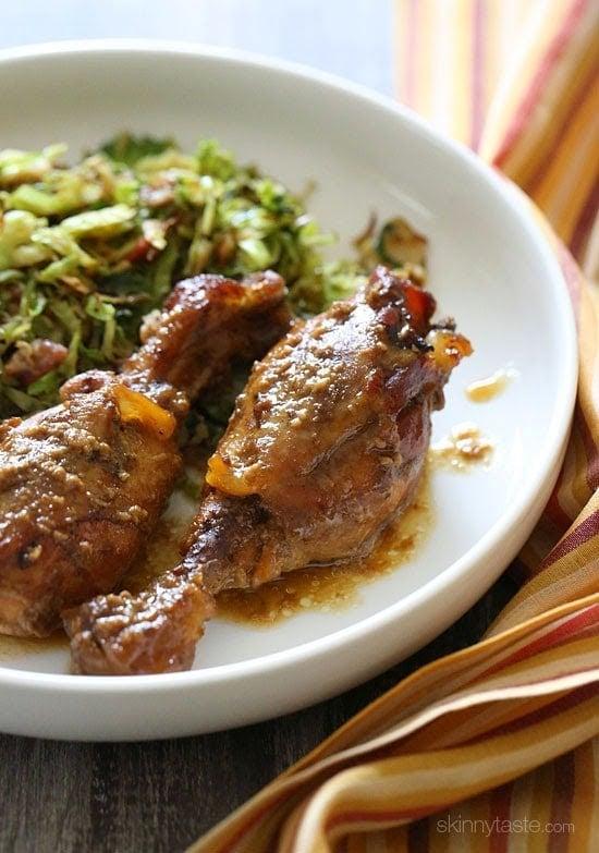 Whole chicken leg recipes crock pot