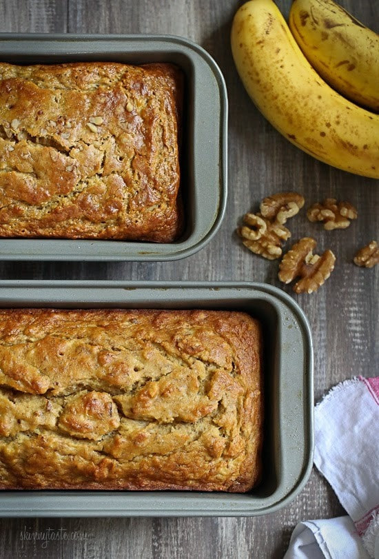 Gluten-Free Banana Nut Bread (Bob's Red Mill GF All-Purpose Flour)