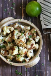Cilantro-Lime-Chili-Roasted-Cauliflower