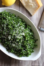 Massaged Raw Kale Salad – Kale is a hearty winter green that holds up well in soups and stews. But it's also wonderful as a salad if you give it a three-minute massage.