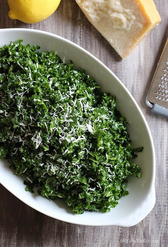 Massaged Raw Kale Salad