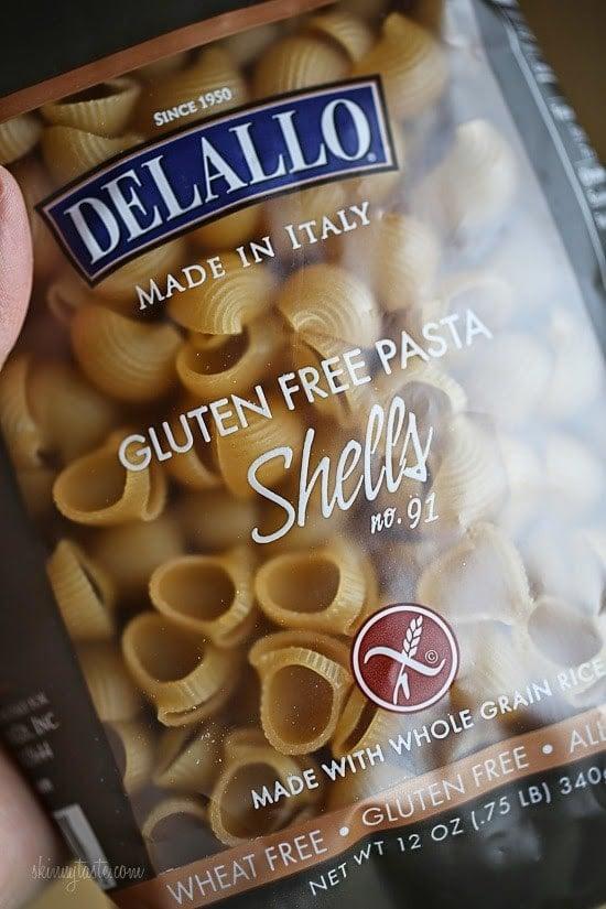 Delallo gluten free pasta.
