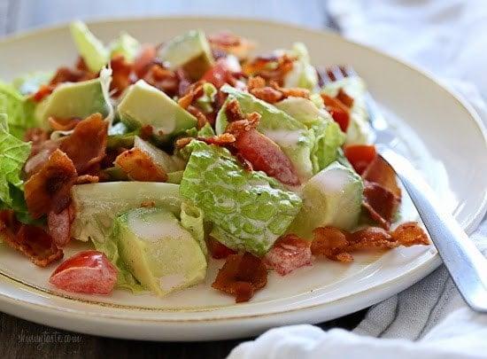 Blt Salad With Avocado Skinnytaste