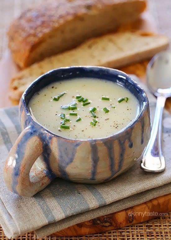 Dad's Creamy Cauliflower Soup