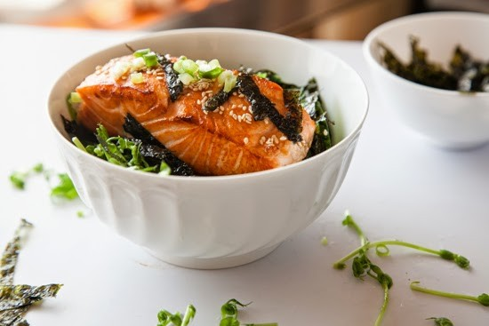 Seattle Asian Salmon Bowl Skinnytaste