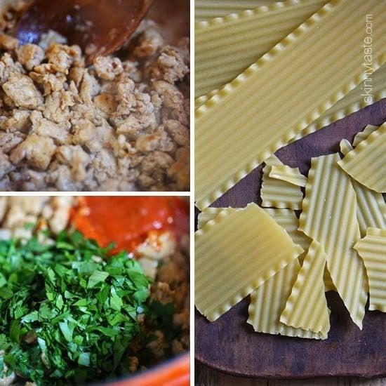 How To Make lasagna soup.