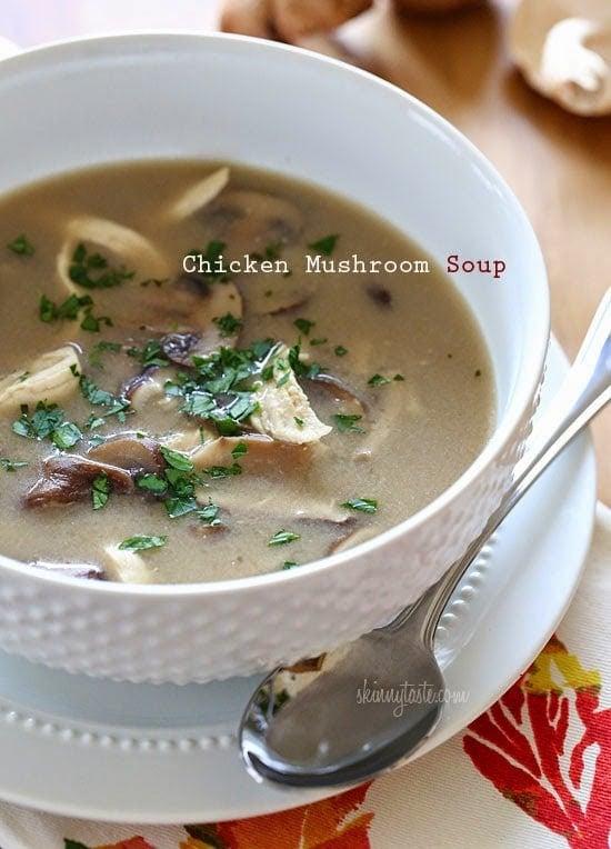 Chicken Mushroom Soup