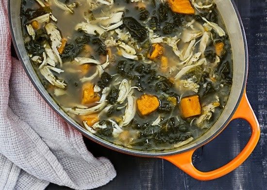 Kale and sweet potato soup recipes