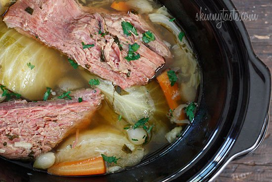 The easiest way to make Crock Pot Corned Beef and Cabbage is in the slow cooker! The slow cooking makes this beef so tender and delicious.