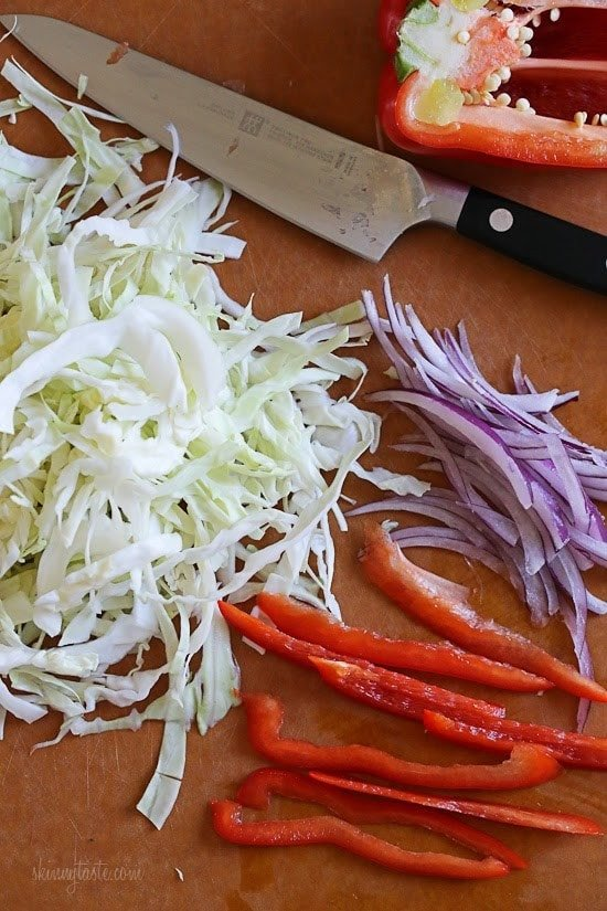 Quick Cabbage Slaw