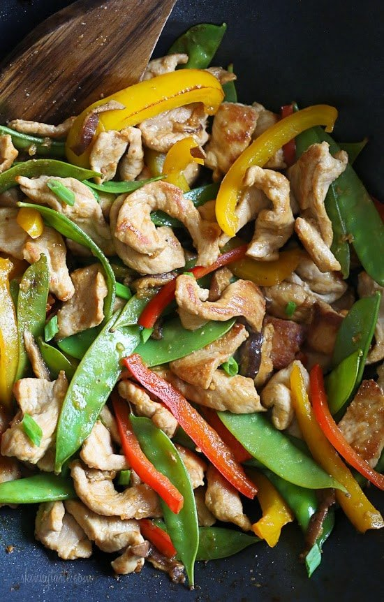 Stir Fried Pork and Veggies