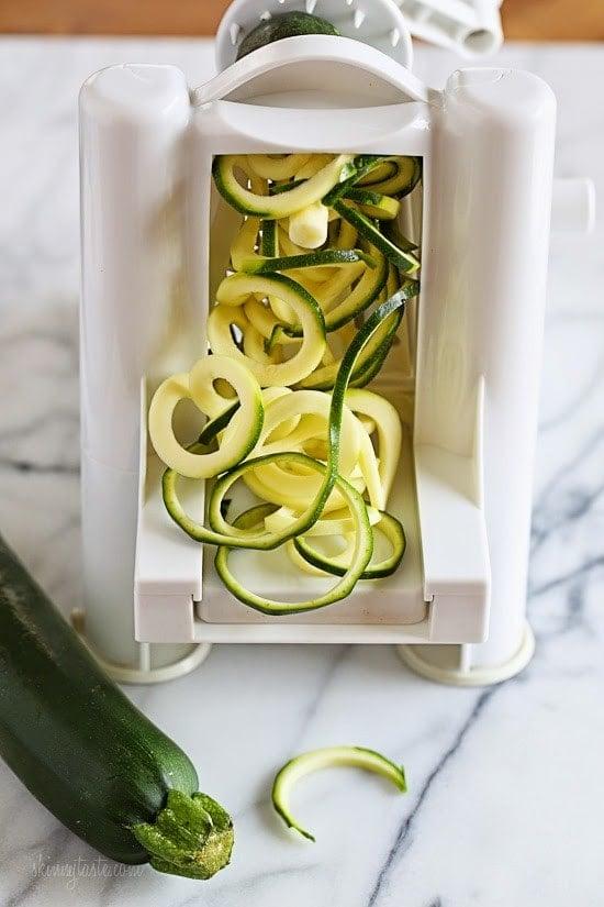Spiralized Zucchini