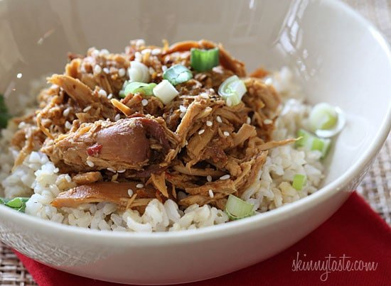 Crock Pot Sesame Honey Chicken - an easy weeknight dish!