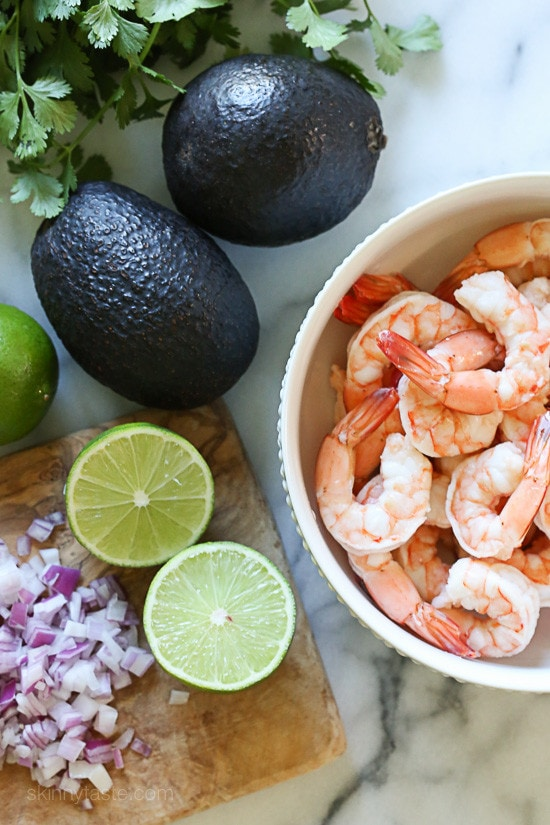 Zesty Lime Shrimp And Avocado Salad Talk About A Light And Refreshing Salad That Requires